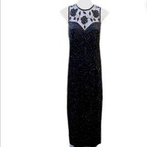 Brilliante by JA Vintage 90's Beaded Gown